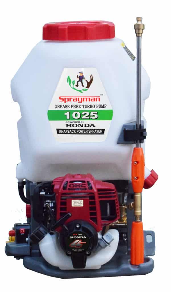 sprayman honda power sprayer